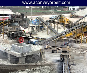Conveyor Belt Used In Cement Plant